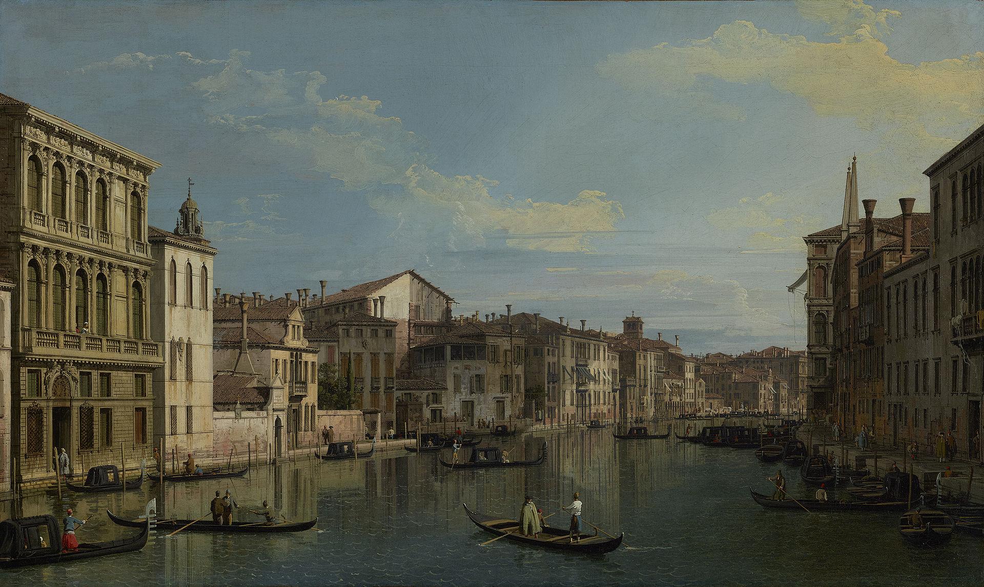 เวนิส-ภาพเขียนสวยๆ