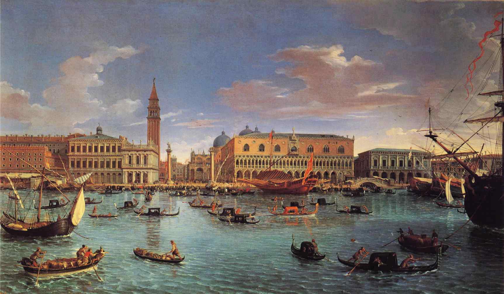 เวนิส-ภาพเขียนโบราณ