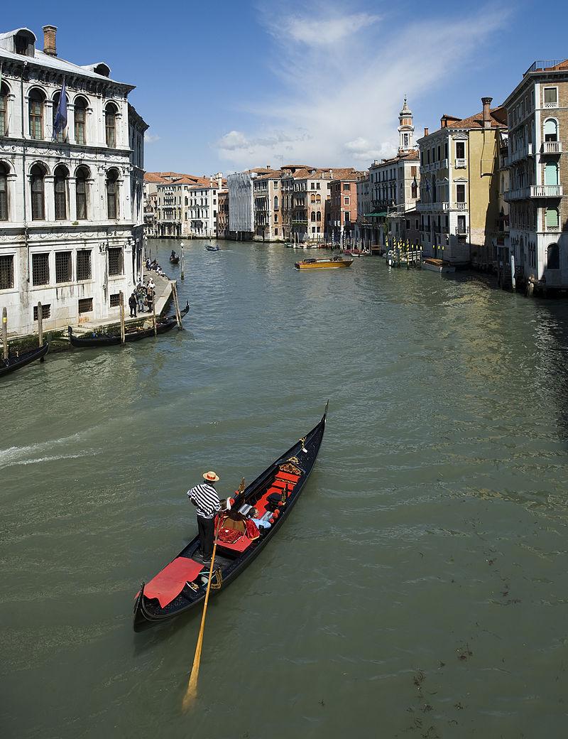 เวนิส-เรือกอนโดร่า