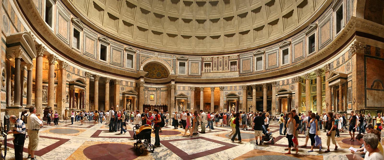 แพนธีออน (Pantheon) เเลนด์มาร์คเเห่งโรม - เที่ยวต่างประเทศ เที่ยวรอบโลก