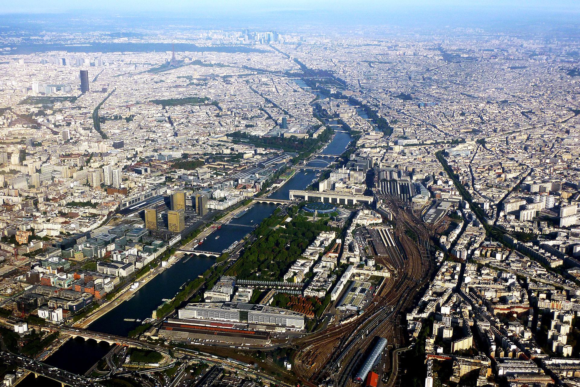 แม่น้ำแซน-มุมสูง