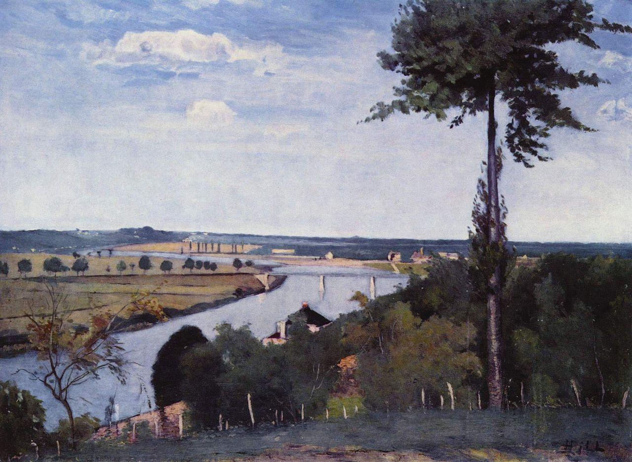 แม่น้ำแซน-ในภาพวาด