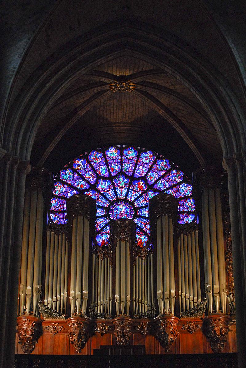 โบสถ์นอทเทอร์ดัม -ภายในโบสถ์