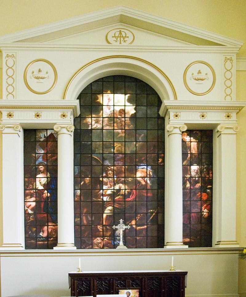 โบสถ์เซนต์ปอล-กระจกสี