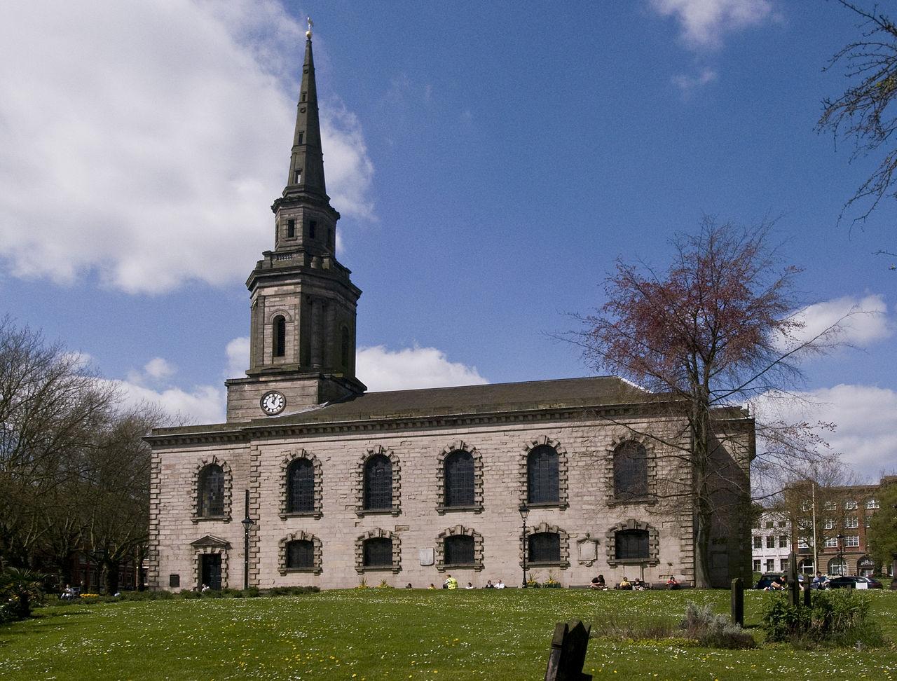 โบสถ์เซนต์ปอล-ตัวโบสถ์