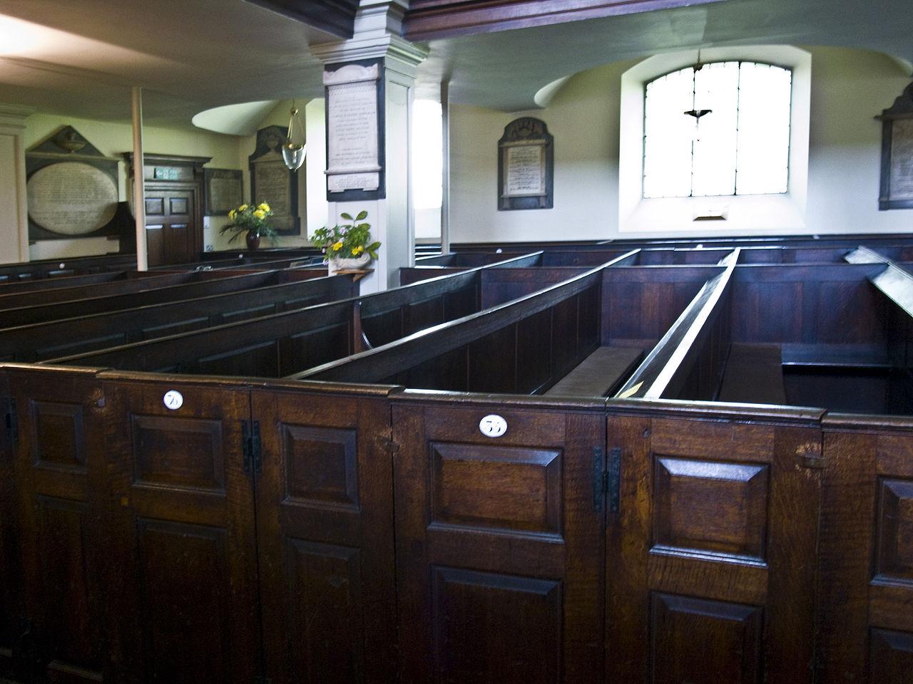 โบสถ์เซนต์ปอล-ที่นั่ง