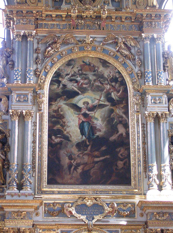 โบสถ์เซนต์ไมเคิล-ภาพเขียน