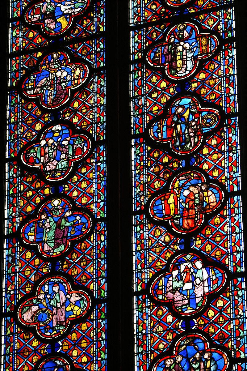 โบสถ์แซงต์ ชาแปลล์-กระจก