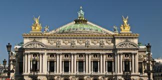 โรงละครปาเลส์การ์นิเย่-ด้านหน้าสวยงาม