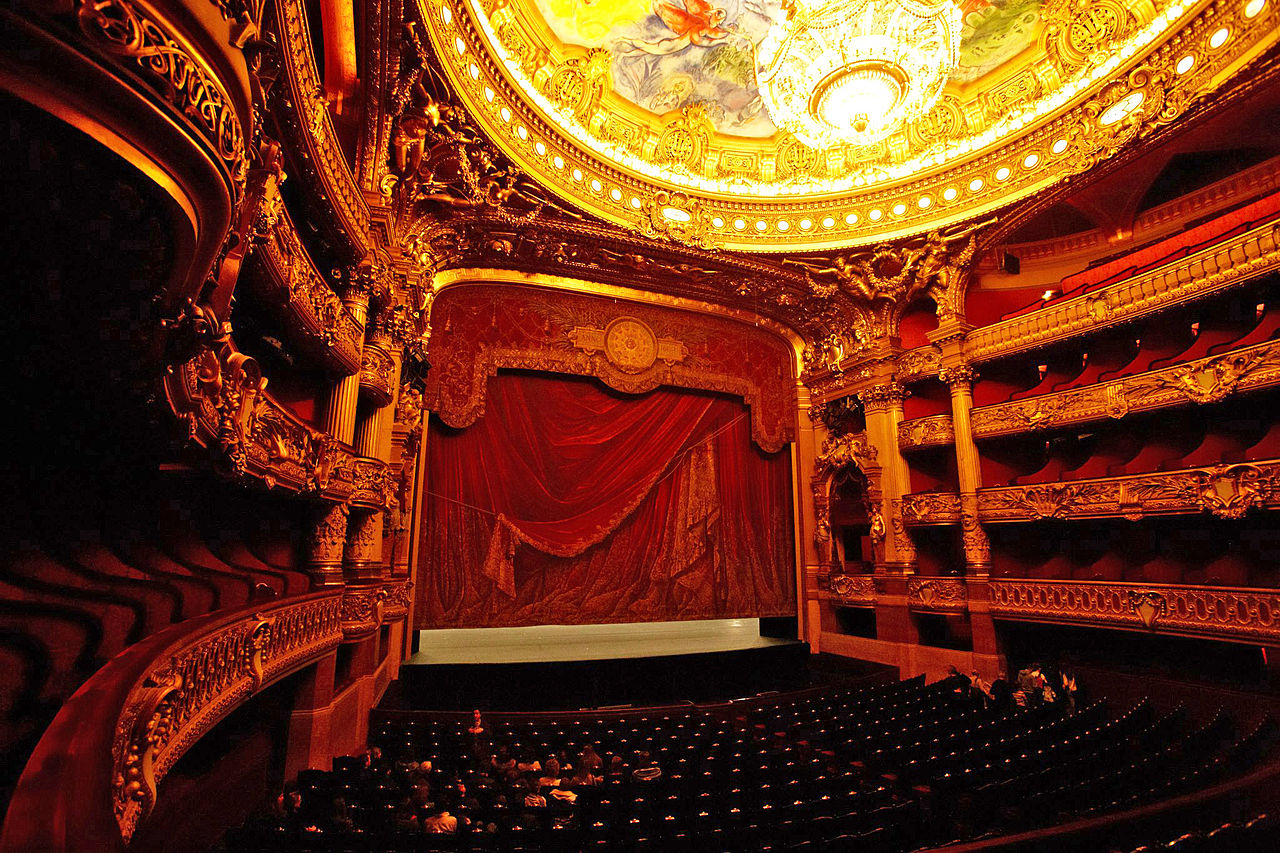 โรงละครปาเลส์การ์นิเย่-ภายในห้องเเสดง