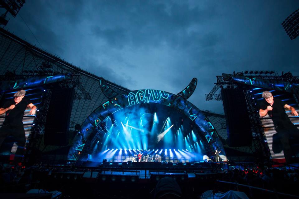โอลิมปิกพาร์ค มิวนิค-การจัดเเสดงคอนเสิร์ต