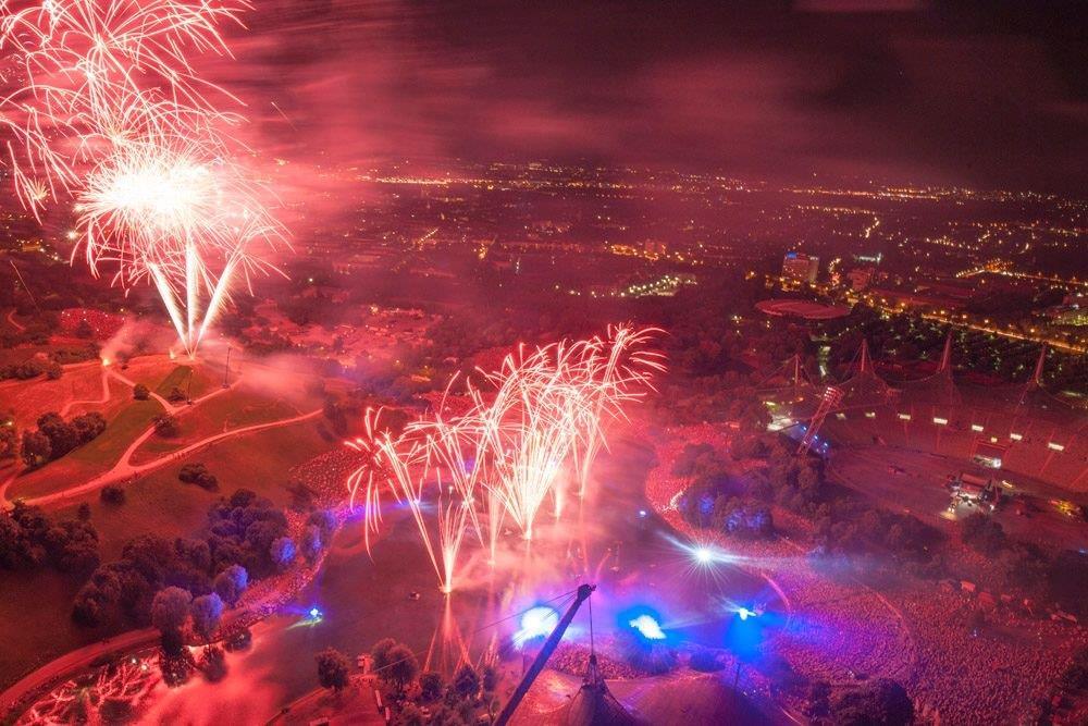 โอลิมปิกพาร์ค มิวนิค-สวยสุดๆ