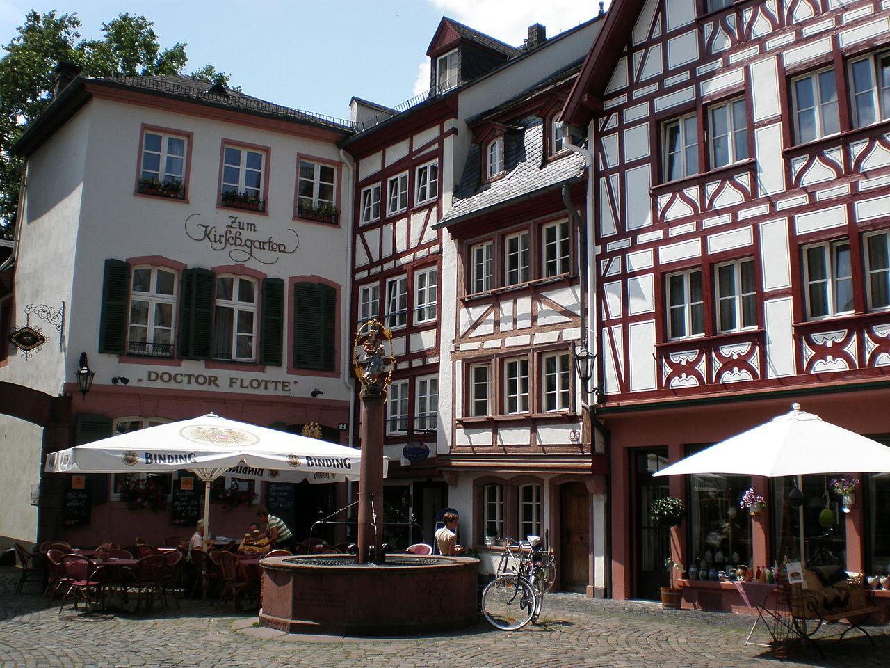 ไมนซ์-บ้านสไตล์เยอรมัน