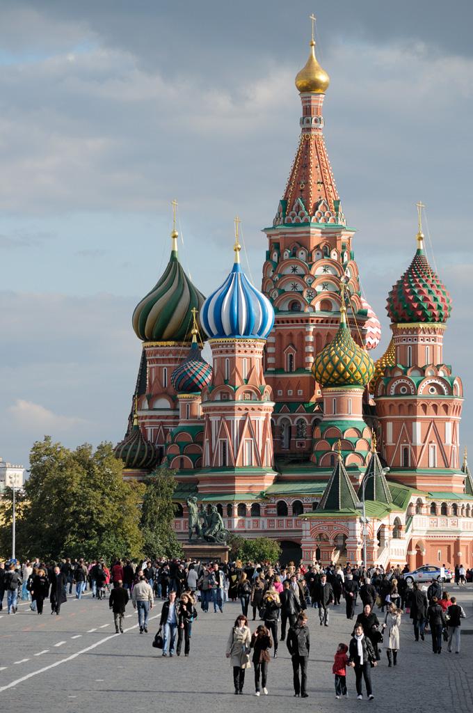 จัตุรัสเเดง-สัญลักษณ์เเห่งรัสเซียใจกลางจัตุรัส