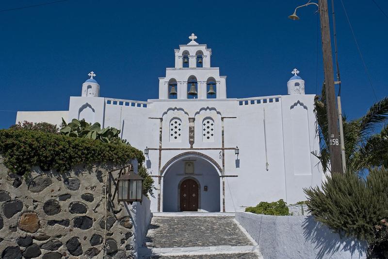 ซานโตรินี-โบสถ์
