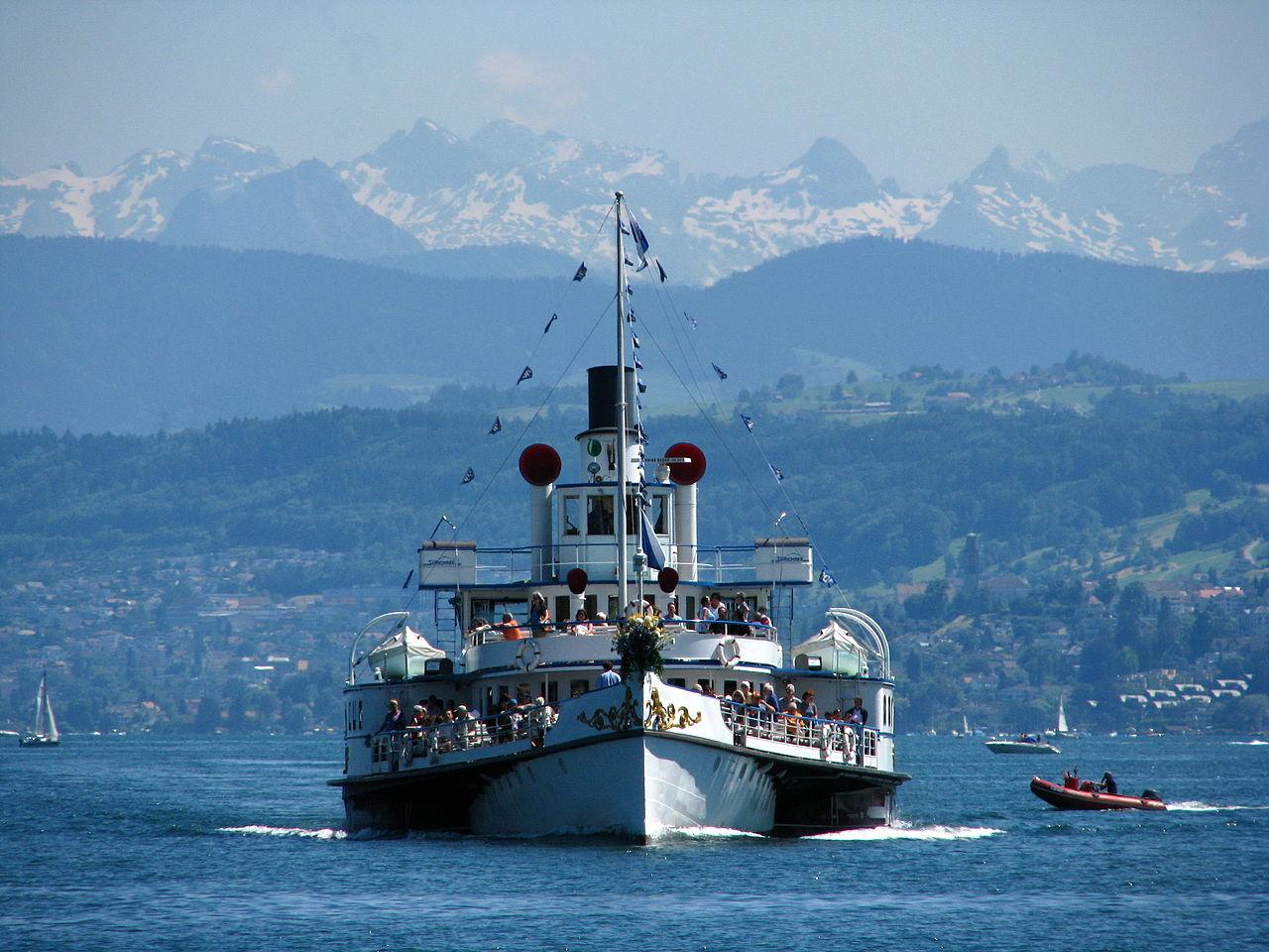 ซูริก -ล่องเรือ