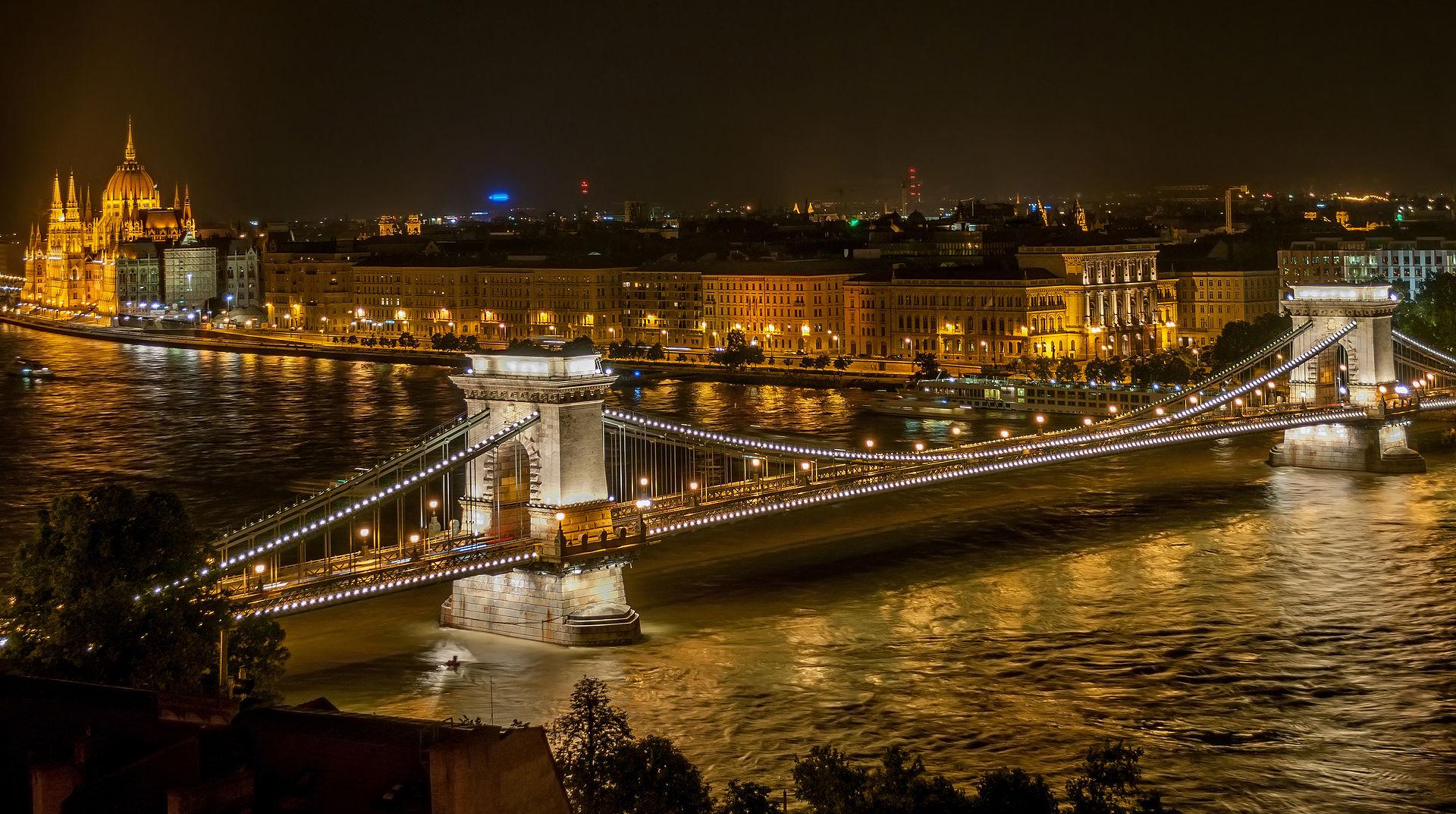 บูดาเปสต์-วิวยามค่ำคืน