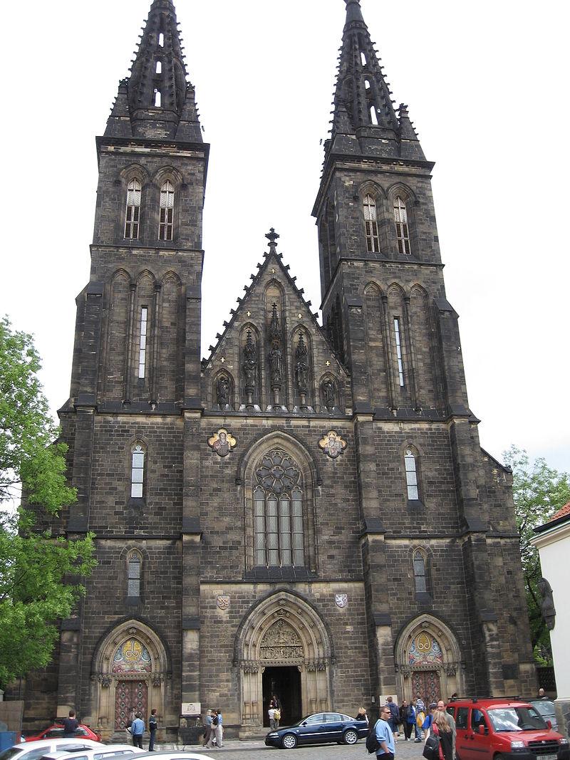 ปราสาทวีเชดรัก-ด้านหน้าของโบสถ์
