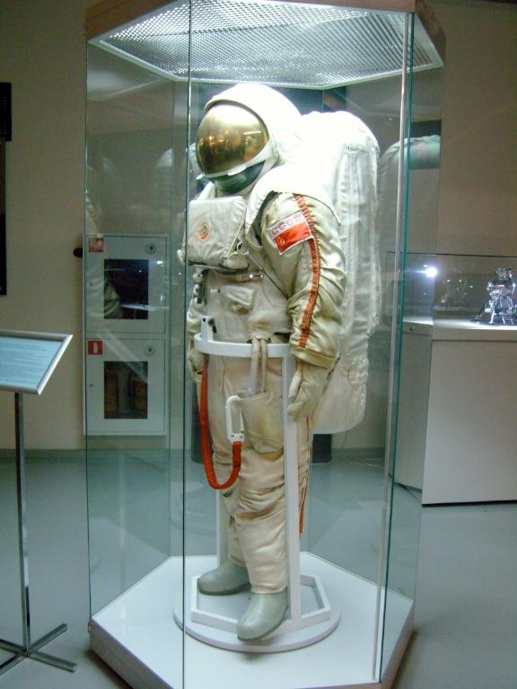 พิพิธภัณฑ์อวกาศมอสโก-ชุดนักบินอวกาศ