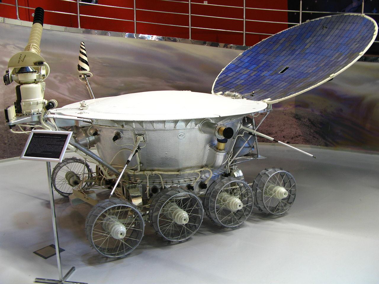 พิพิธภัณฑ์อวกาศมอสโก-ยานสำรวจพื้นผิว
