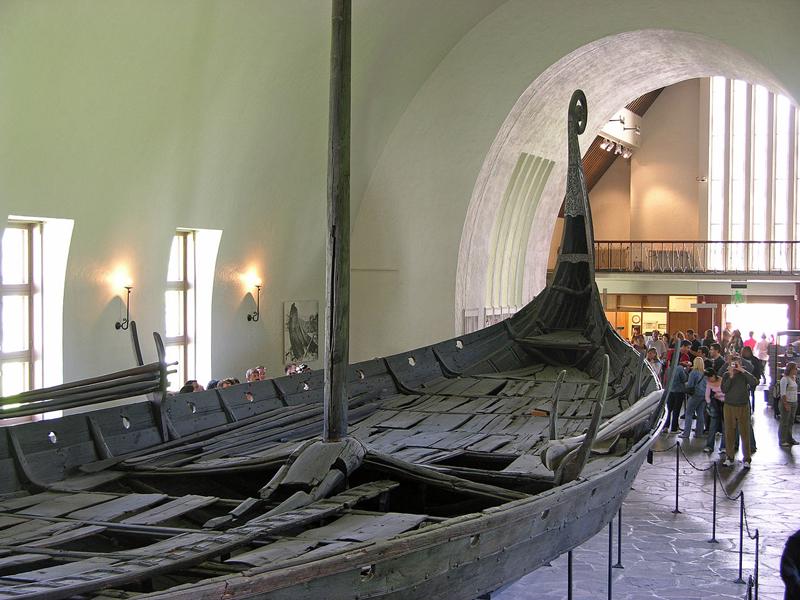 พิพิธภัณฑ์เรือไวกิ้-สภาพเรือ
