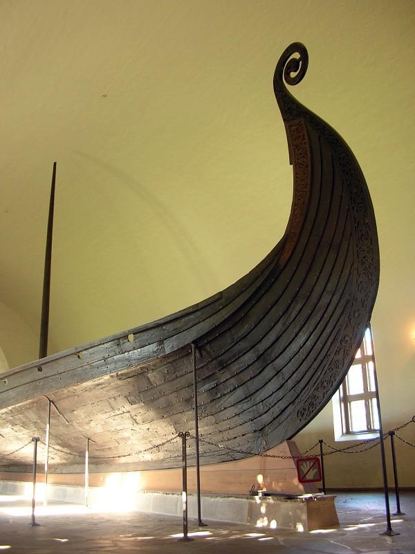 พิพิธภัณฑ์เรือไวกิ้-หัวเรือ