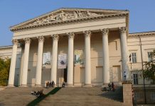 พิพิธภัณฑ์แห่งชาติฮังการี-ด้านหน้า
