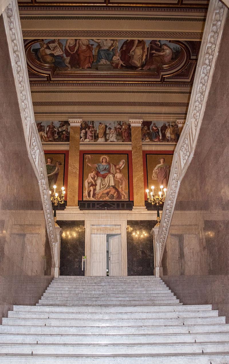 พิพิธภัณฑ์แห่งชาติฮังการี-โถง