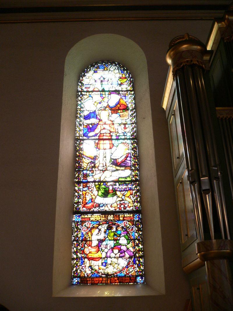 มหาวิหารออสโล-กระจกสี