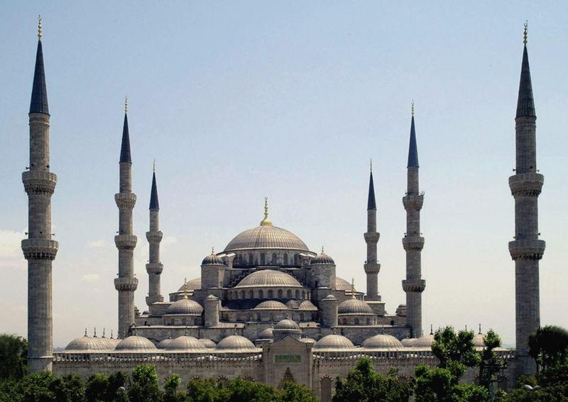 มัสยิดบลู-ยิ่งใหญ่สวยงาม