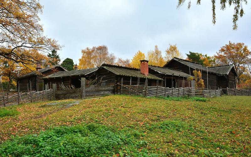สตอกโฮล์ม-บ้านเเบบเก่า