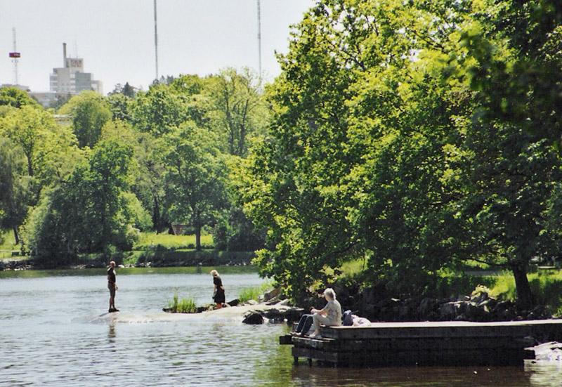 สตอกโฮล์ม-สวนสวยๆ