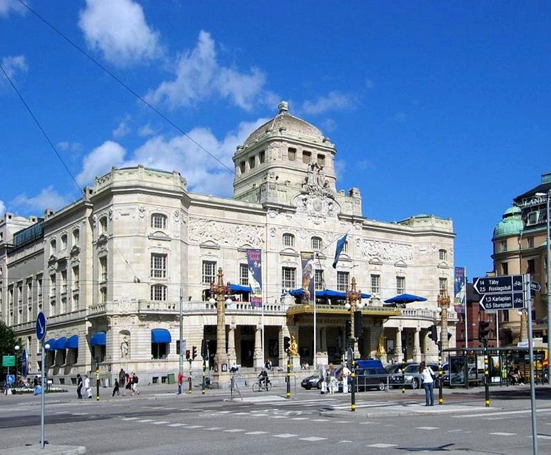 สตอกโฮล์ม-โรงละคร