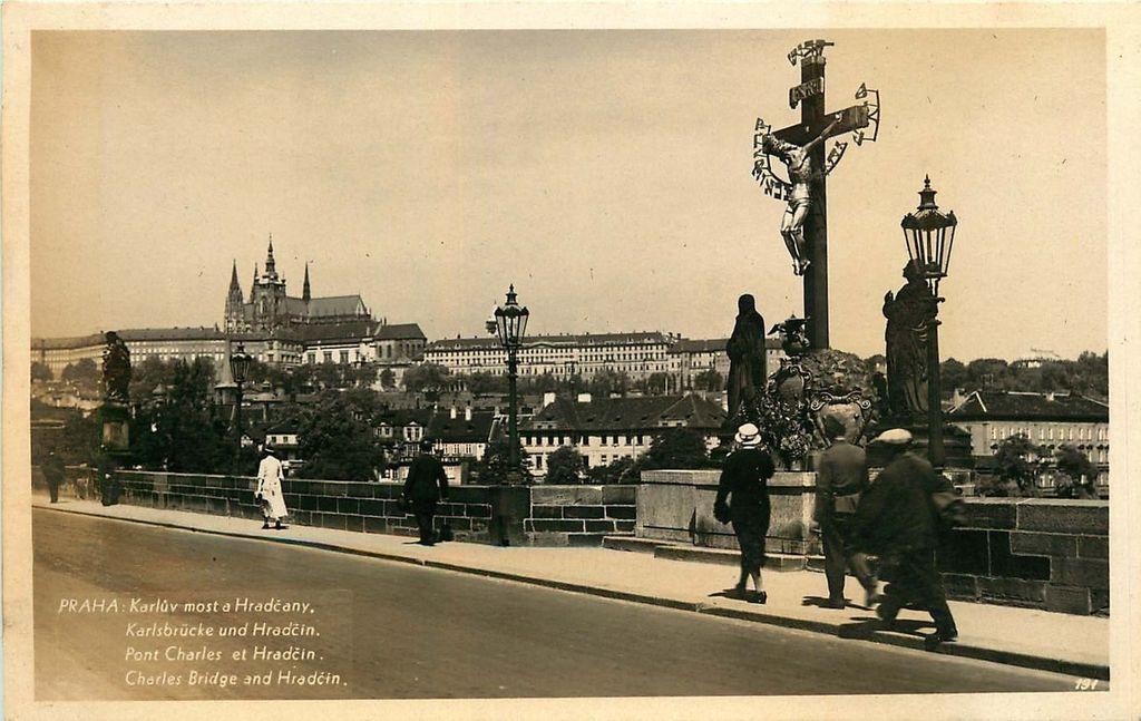 สะพานชาร์ลส์-ภาพในอดีต