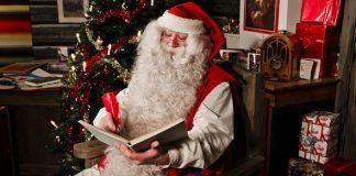 หมู่บ้านซานต้าครอส-ลุซานต้าตัวเป็นๆ