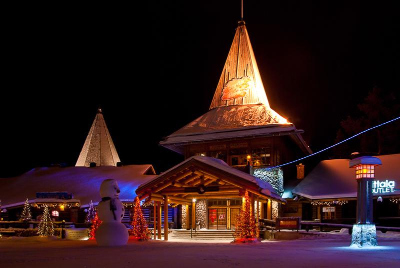 หมู่บ้านซานต้าครอส-หมู่บ้าน
