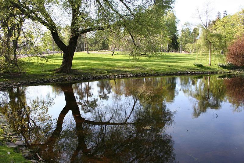 อนุสาวรีย์ซิเบลิอุส-สวนที่ตั้ง