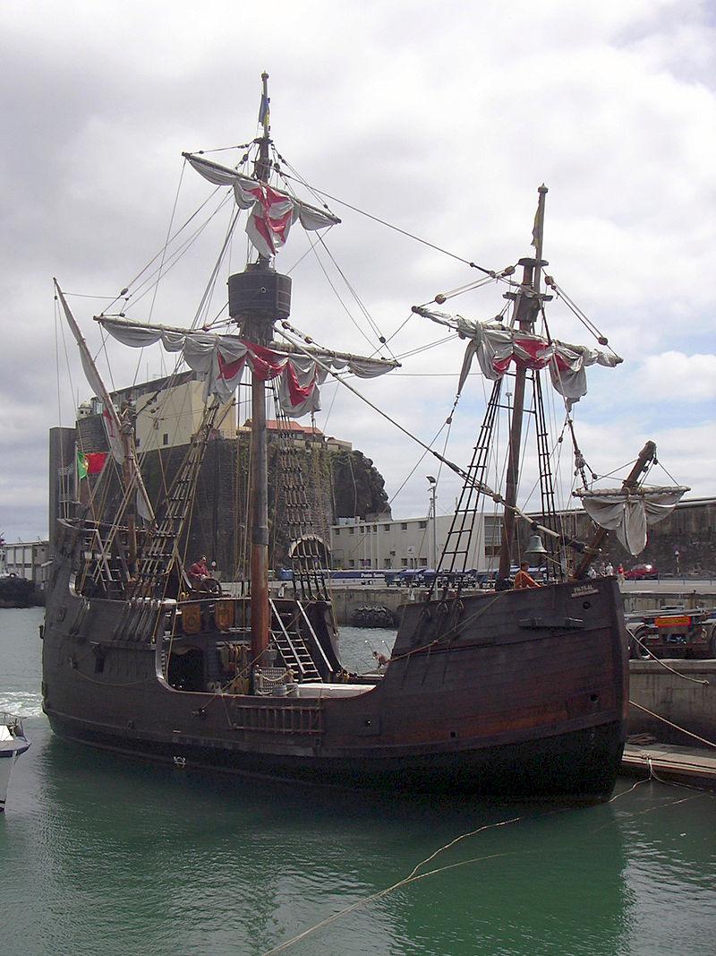เกาะมาเดรา-เรือซานตามาเรีย