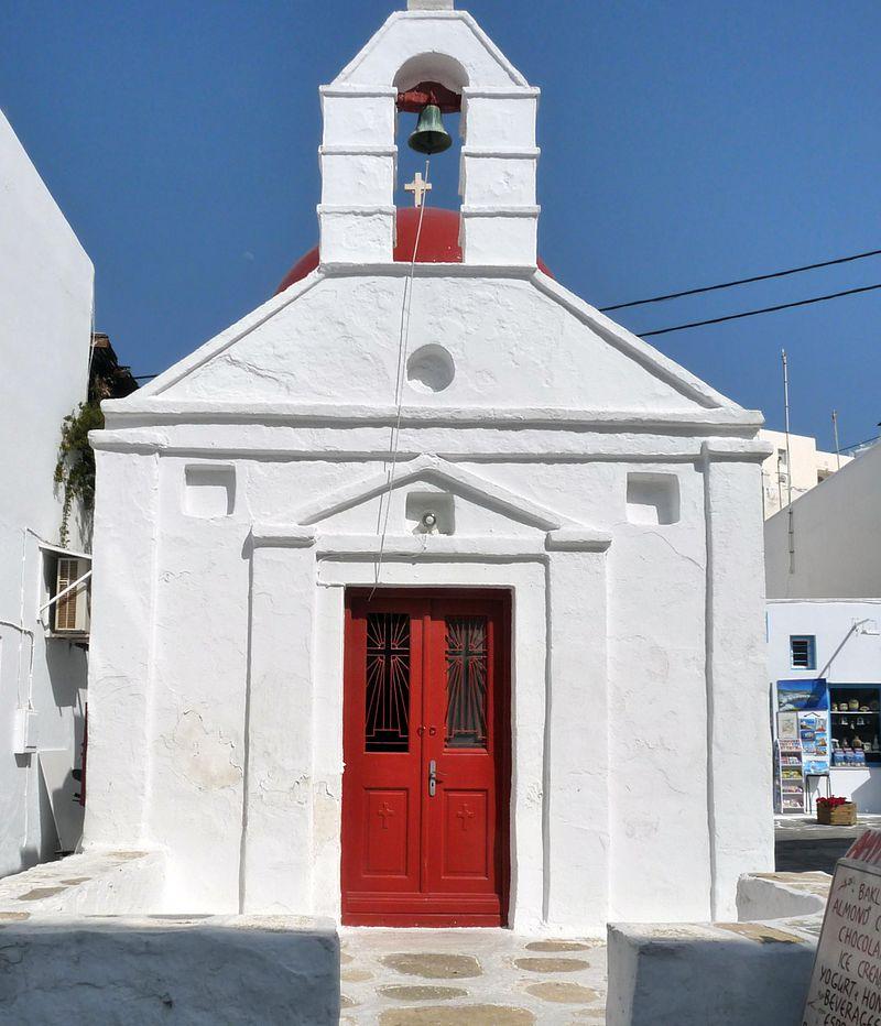 เกาะมิโคนอส-โบสถ์