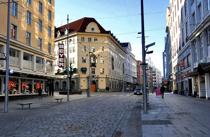 เบอร์เกน-ถนนในเมือง