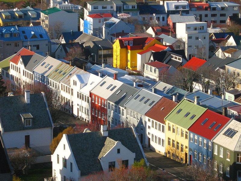 เรคยาวิก-บ้านเรือสีสันสวยงาม
