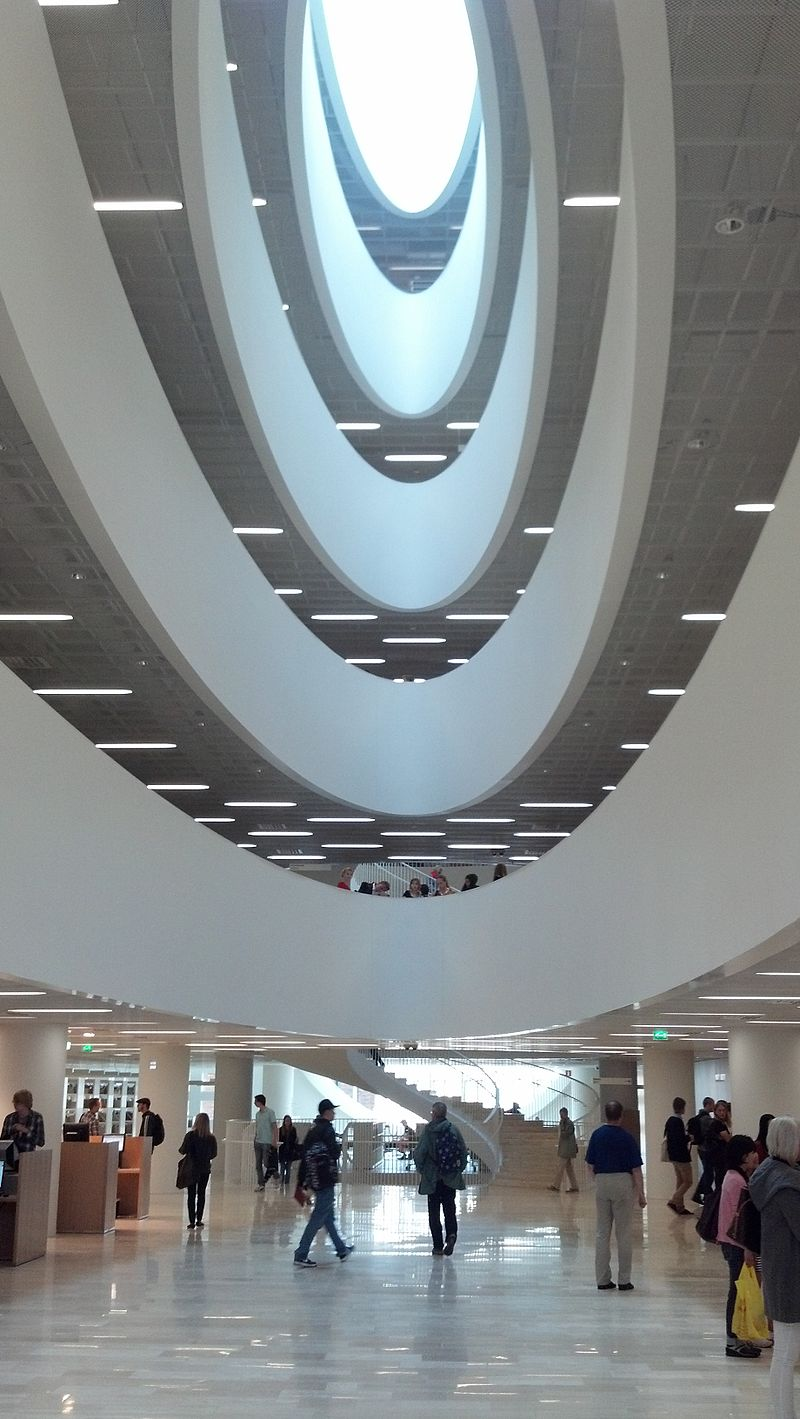 เฮลซิงกิ-ภายในมหาวิทยาลัยเฮลซิงกิ