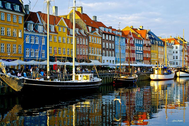 โคเปนเฮเกน-บริเวณท่าเรือเก่า
