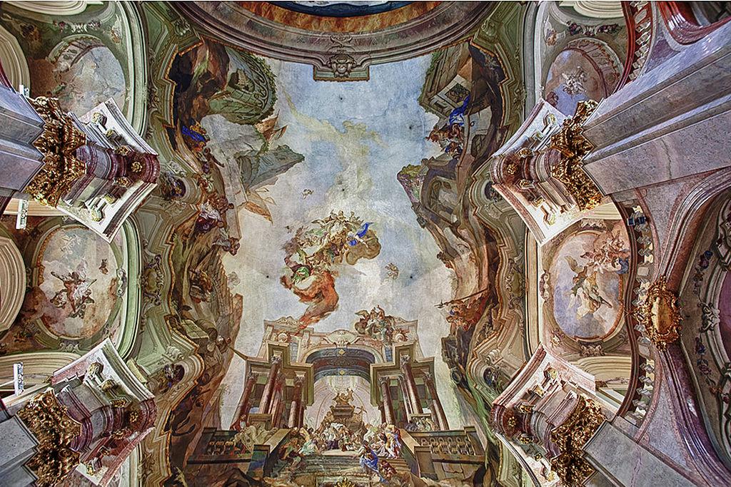 โบสถ์เซนต์นิโคลาส-ภาพเขียน