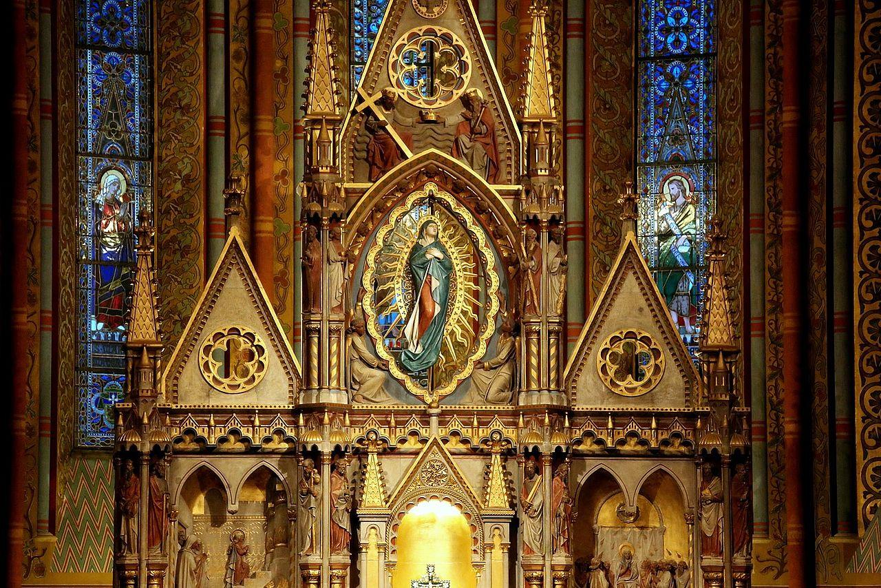 โบสถ์เเมตเทียส-รายละเอียดสวยงาม