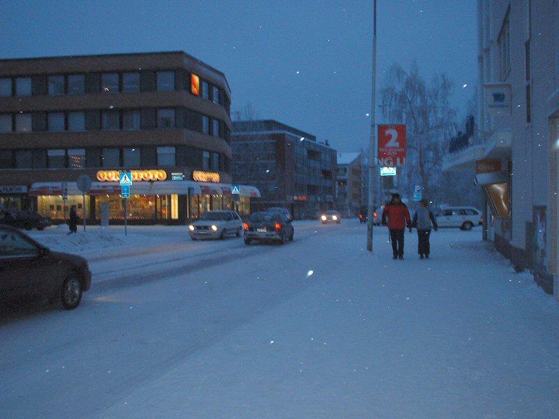 โรวาเนียมิ-หิมะ