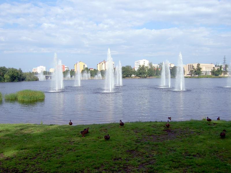 โอวลุ  -สวนสาธารณะ