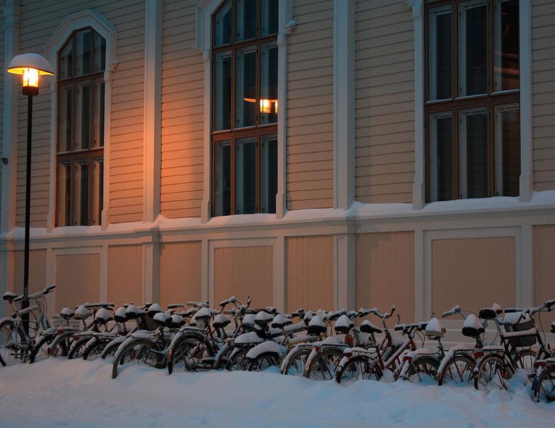 โอวลุ  -หิมะ