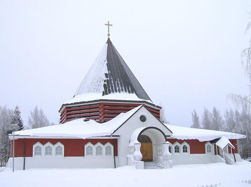 โอวลุ  -โบสถ์