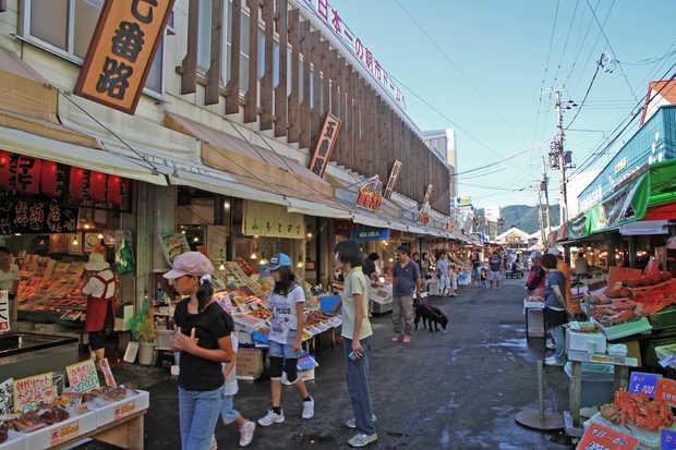 10 ตลาดญี่ปุ่นที่น่าสนใจ-ตลาดเช้าฮาโกดาเตะ